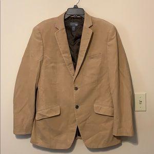 H&M Corduroy Mens Tan Blazer size 42 R